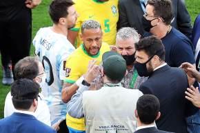 Alex Machado Campos, diretor de Portos, Aeroportos e Fronteiras da Agência Nacional de Vigilância Sanitária, disse que Anvisa foi impedida de acessar jogadores antes da partida