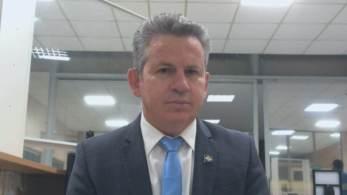 Mauro Mendes também vetou a participação de PMs do estado na manifestação