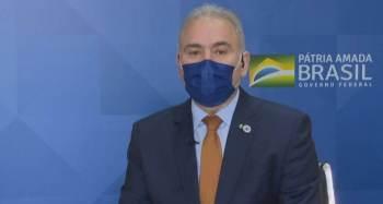 Ministro da Saúde afirmou que a orientação da pasta é pelo uso da vacina da Pfizer para a dose de reforço