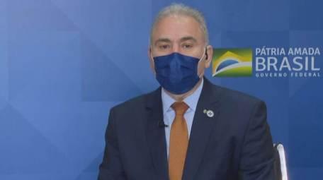 Ministro da Saúde, Marcelo Queiroga, em entrevista exclusiva à CNN