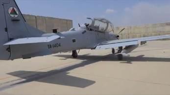 'Super Tucanos' foram deixados no aeroporto de Cabul