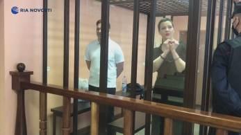Maria Kolesnikova e Maxim Znak foram condenados a 11 e 10 anos de prisão, respectivamente, causando protestos dos países ocidentais