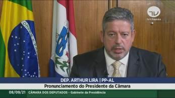 Presidente da Câmara dos Deputados diz Casa legislativa está aberta a conversas e negociações para reduzir a tensão entre Executivo e Judiciário