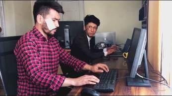 Repórteres foram detidos porque cobriam um protesto na província de Panjshir