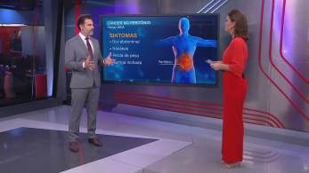 No quadro Correspondente Médico, dr. Fernando Gomes explicou que a doença que vitimou Dudu Braga é rara e costuma surgir em decorrência de outros tumores