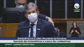Joaquim Silva e Luna, presidente da companhia, irá debater preço dos combustíveis em reunião na Câmara nesta terça