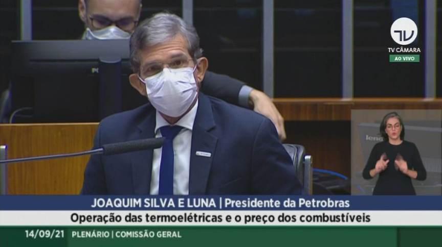 Joaquim Silva e Luna, presidente da Petrobras