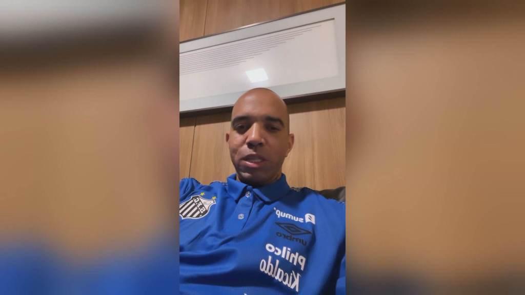 Diego Tardelli relata ameaça feita por torcedores após eliminação do Santos