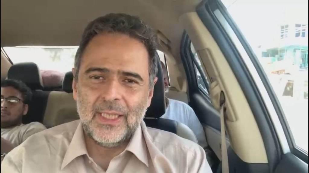 O enviado especial da CNN ao Afeganistão, Lourival Sant'Anna