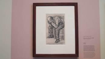 Obra foi feita com lápis de carpinteiro e é datada com o ano de 1882.