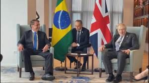 Estamos trabalhando juntos em vacinas, diz Boris após encontro com Bolsonaro