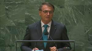 Na ONU, Bolsonaro defende política ambiental e cobra compromissos de países ricos