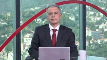 No quadro Liberdade de Opinião, jornalista repercutiu fala de prefeito de Nova York sobre presidente brasileiro não estar vacinado contra a Covid-19