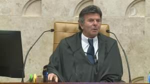 """""""STF se apresenta como exemplo de democracia"""", diz Fux em balanço de sua gestão"""