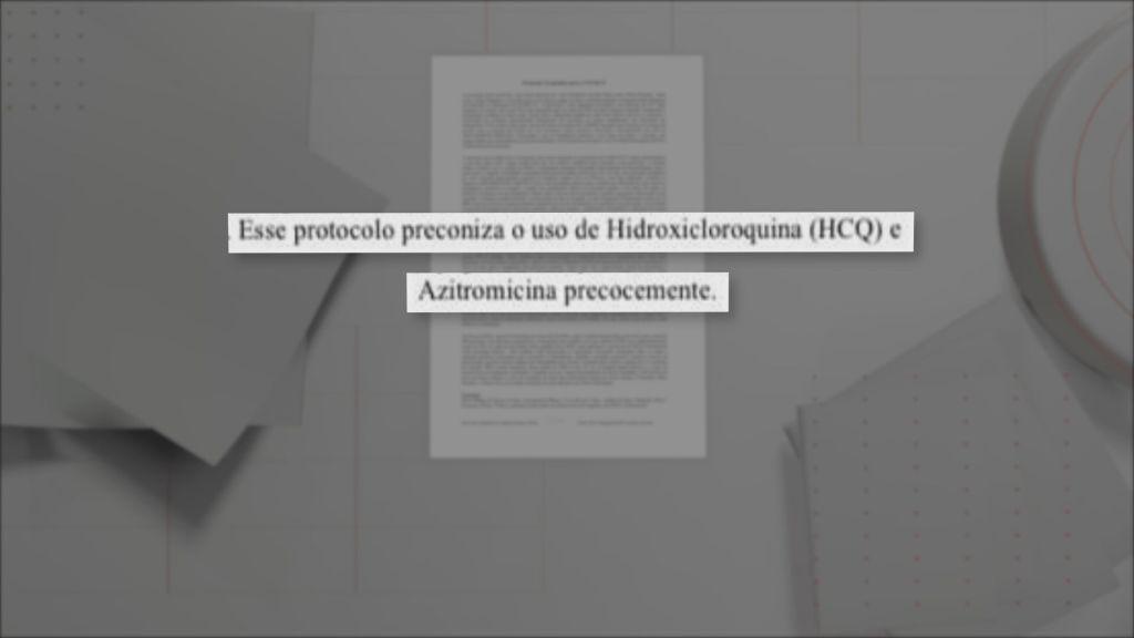 Documento sobre a Prevent Senior assinado pela médica Nise Yamaguchi
