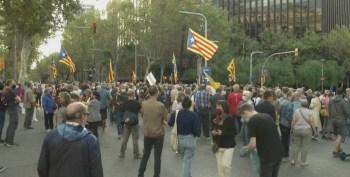 Ele é acusado de ter se rebelado contra o governo espanhol em 2017 ao organizar o referendo de independência da Catalunha, que foi considerado ilegal pelas autoridades