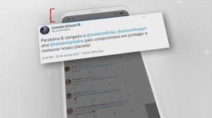Leonardo Di Caprio parabeniza governadores brasileiros por políticas ambientais