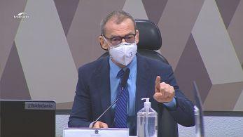 Durantedepoimento do empresário bolsonarista Otávio Fakhoury à CPI da Pandemia, o senador tomou a palavra para se defender de uma ofensa preconceituosa