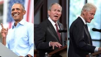 Ex-presidentes – junto com ex-primeiras-damas Hillary Clinton, Laura Bush e Michelle Obama – serão co-presidentes honorários do grupo Welcome.US, que acolherá e apoiará os refugiados