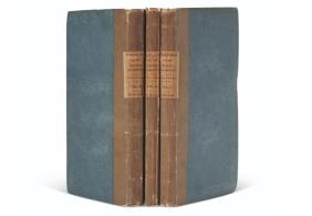 Livro em três volumes foi um dos 500 originalmente impressos anonimamente pela autora Mary Shelley em 1818