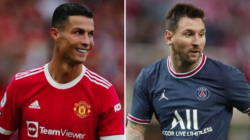 Cristiano Ronaldo, no Manchester United, e Messi, no PSG, farão reestreias na Liga dos Campeões