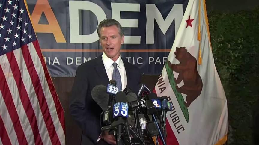 Democrata Gavin Newsom derrotou iniciativa para tirá-lo do governo da Califórnia