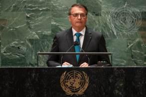 Chefe de Estado brasileiro é o primeiro líder nacional a discursar; Bolsonaro defendeu o 'tratamento precoce' e a política ambiental