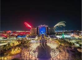 A expectativa é de que 25 milhões de pessoas -- mais do que o dobro da população dos Emirados Árabes Unidos, que sedia a feira -- visitem os pavilhões durante o funcionamento da edição