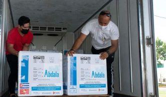 Remessa inicial faz parte de um contrato para fornecer cinco milhões de doses da vacina Abdala