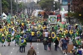 Eventos a favor do governo são maiores que os contrários; manifestações no 7 de Setembro ocorrem em várias cidades do país
