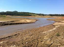 Nível do reservatório está em queda desde abril deste ano, quando operava com 38,72%; desde então o volume despencou