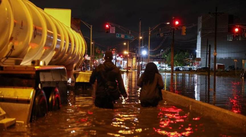 Enchentes atingem nordeste dos Estados Unidos