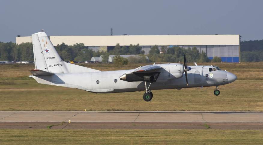 Aeronave russa, modelo Antonov An-26