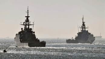 HMS Spey e HMS Tamar agirão como os 'olhos e ouvido' do país na região, ao lado de aliados, como parte da missão Grã-Bretanha Global