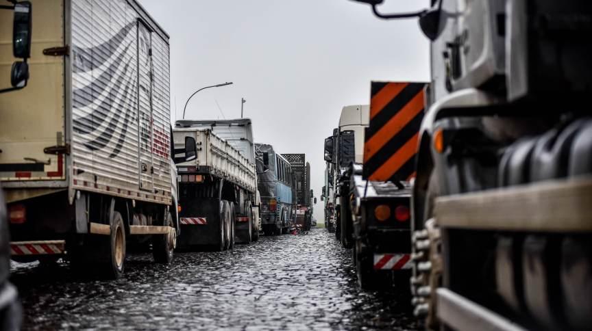 Paralisação dos caminhoneiros