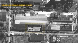 Coreia do Norte amplia fábrica de urânio para armas, indicam imagens de satélite