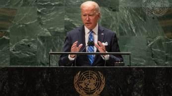 Em primeiro discurso na Assembleia-Geral das Nações Unidas, democrata reconhece perdas causadas pela pandemia e diz que mudo precisa 'trabalhar junto para salvar vidas'