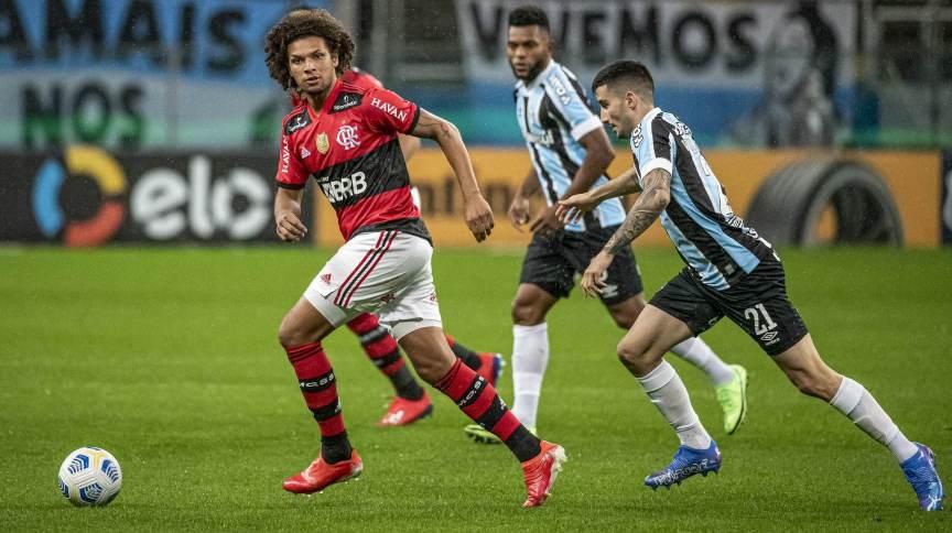 Jogo entre Flamengo e Grêmio nesta quarta-feira (15) terá volta do público ao Maracanã em evento-teste