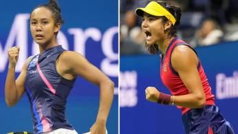 Britânica de 18 anos e canadense de 19 anos se enfrentam, no sábado (11), em busca do primeiro título de Grand Slam após surpreenderem e fazerem história no torneio