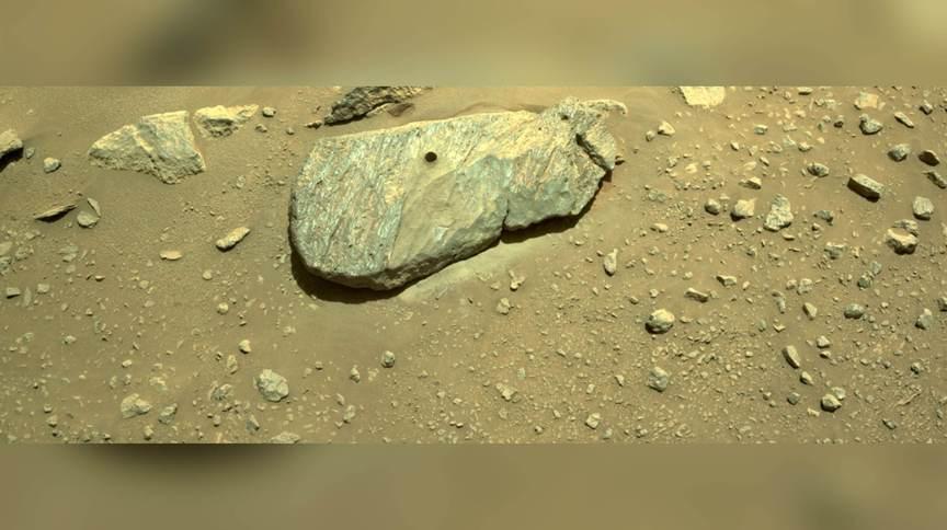 Nova imagem divulgada pela Nasa confirma que Perserverance coletou amostra do solo de Marte