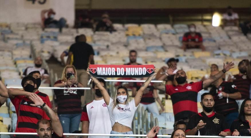 Jogo entre Flamengo e Grêmio teve 68 pessoas impedidas de entrar no estádio