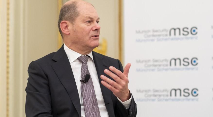 O ministro das Finanças e possível novo premiê alemão Olaf Scholz