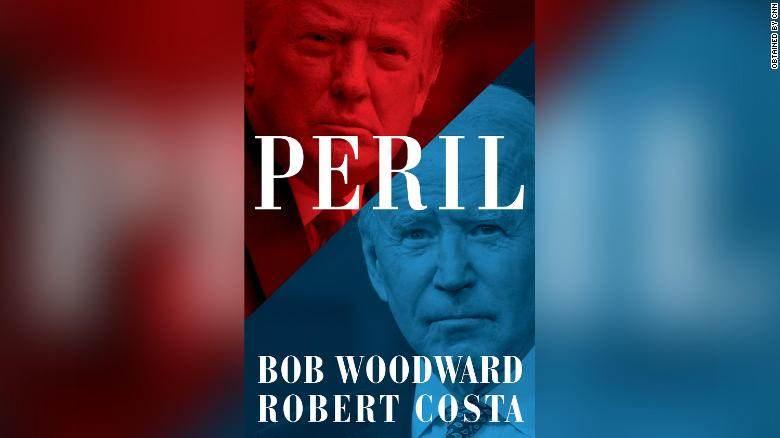 """Capa de """"Peril"""", livro sobre transição de Donald Trump para Joe Biden"""