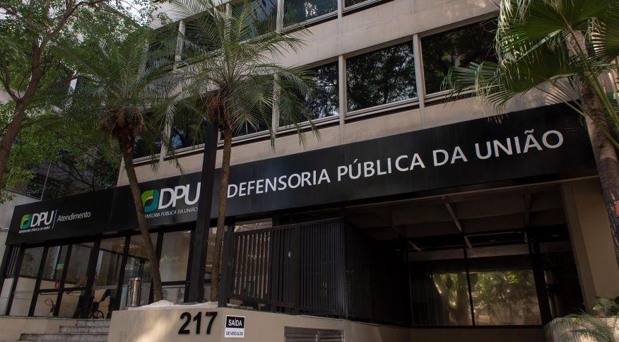 Sede da Defensoria Pública da União, em São Paulo