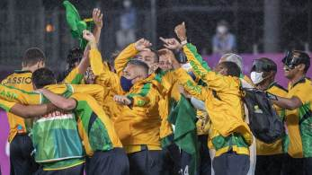 Com vitória da seleção masculina de futebol de 5, que venceu Argentina por 1 a 0, país supera desempenho dos Jogos de Londres, em 2012