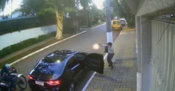 Segundo nota da Prefeitura, eles reagiram a tentativa de assalto por dois homens em uma moto