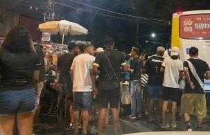 Partida com torcedores faz parte de evento-teste da prefeitura do Rio