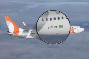 Marcas de identificação em aeronaves são como as placas dos carros, mas com validade no mundo todo