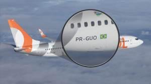 Avião também tem 'placa' de identificação; entenda os códigos