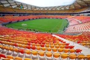Jogo pelas Eliminatórias da Copa está marcado para 14 de outubro e terá 30% de público na Arena da Amazônia